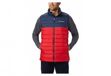 COLUMBIA Powder Lite jacket Men's Red