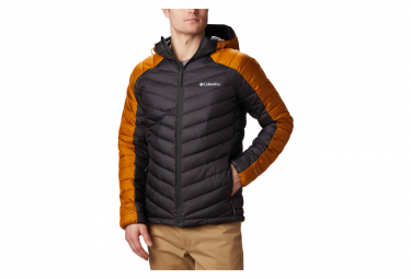 COLUMBIA Horizon Explorer Hooded Jacket Black Orange