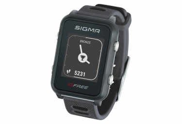 Reloj Sigma iD.FREE GPS Gris