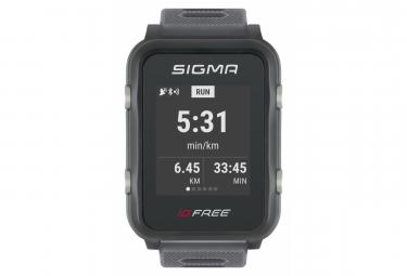 Montre de Sport Sigma iD.FREE Gris