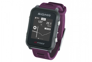 Sigma Id Free Gps Watch Purple