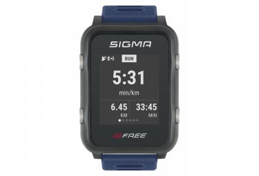 Montre de Sport Sigma iD.FREE Bleu