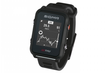 Sigma iD.TRI GPS Watch Black