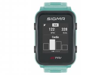 Montre de Sport Sigma iD.TRI Bleu