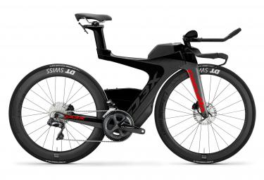 Bicicleta de Triatlón Cervélo P3X Shimano Ultegra Di2 8050 11V Negro/Rojo 2020