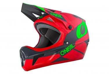 O Neal Sonus Helmet Deft Red Gray Green L  59 60 Cm