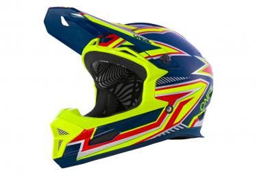 O Neal Fury Helmet Rapid Blue Neon Yellow L  59 60 Cm