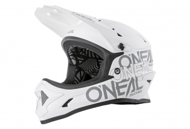 Casque Intégral O'Neal BACKFLIP SOLID Blanc