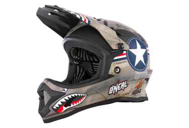 O'Neal BACKFLIP Youth Helmet WINGMAN metal/white