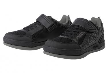 O Neal Sender Flat Shoe Black Gray 36