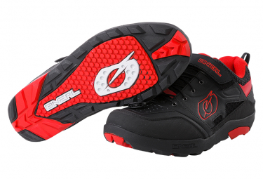 O'Neal Traverse Flat MTB Shoes Black / Red
