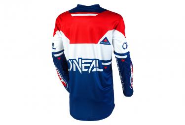 O'Neal Element Warhawk Long Sleeve Jersey Blue / Red