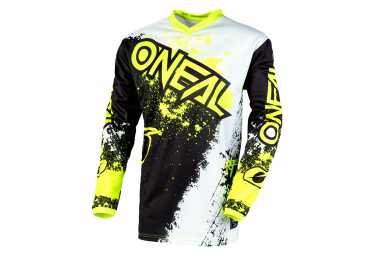 O'Neal Element Impact Long Sleeve Jersey Black / Yellow