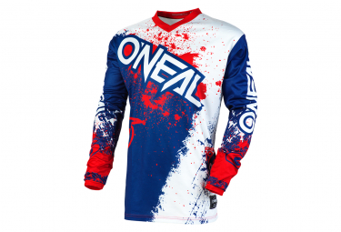 O'Neal Element Impact Long Sleeve Jersey Blue / Red
