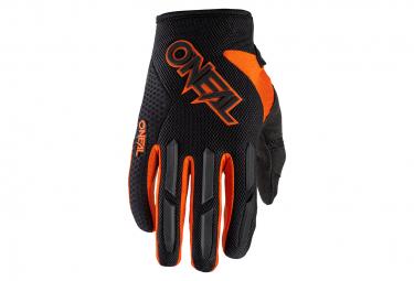 Pair of O'Neal Element Kids Gloves Black / Orange