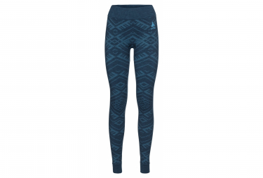 Odlo NATURAL + KINSHIP WARM Bottom long blue
