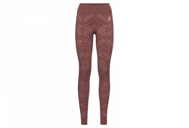 Odlo NATURAL + KINSHIP WARM Bottom long Red