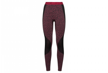 Odlo BLACKCOMB Bottom long black cerise