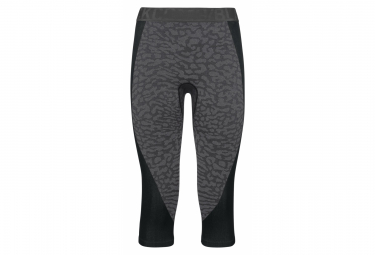 Odlo Blackcomb 3 4 Tight Black Grey Xs