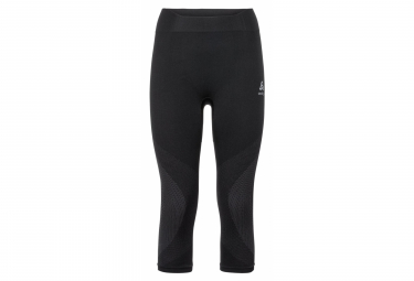 Odlo PERFORMANCE WARM 3/4 Tight black Grey