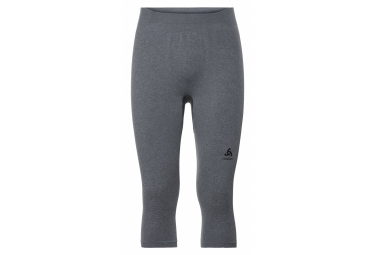 Odlo Performance Warm 3 4 Tight Grey Black L
