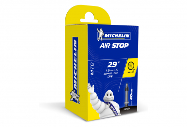 Michelin A4 Airstop Butyl MTB Tube 29x1.90 - 2.50 Presta 40 mm