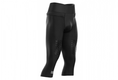 Compressport Trail Running Under Control Men's 3/4 Tight Black