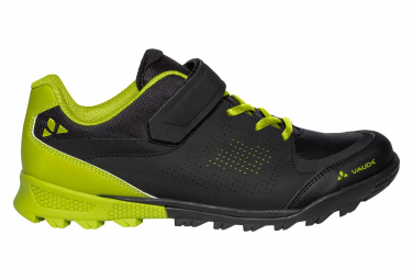 Vaude Am Downieville Low Shoes Black Yellow 43