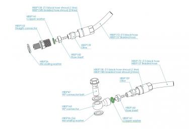 Distanziale Hope 2.5mm per custodia BSA