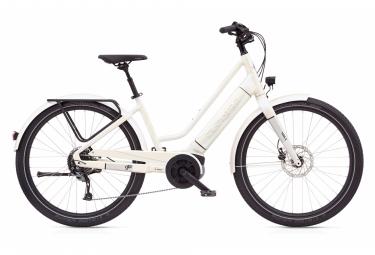 Vélo de Ville Électrique Electra Vale Go! Shimano Alivio/Acera 9V 500 Blanc 2020