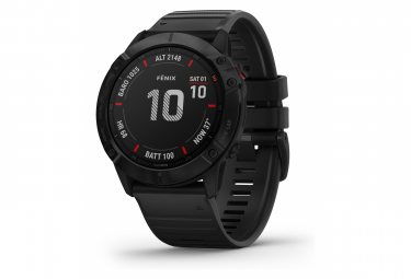 Garmin fenix 6X Pro GPS Watch Black with Black Band