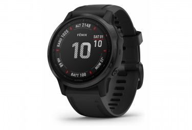 Garmin fenix 6S Pro GPS Watch Black with Black Band