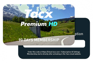 Tacx Premium HD Home-Trainer Training Program