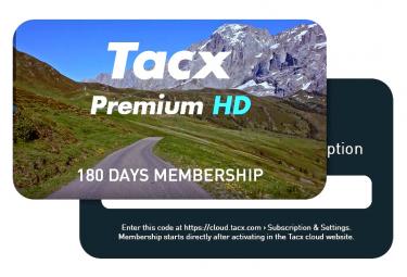 Abonnement Tacx Premium HD 6 Mois