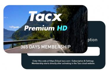 Abonnement Tacx Premium HD 12 Mois