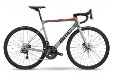 BMC Teammachine SLR01 Disc Road Shimano Ultegra Di2 11V Rosso Grigio 2020