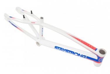 CADRE BMX RACE STAY STRONG FOR LIFE V2 - CRUISER - WHITE