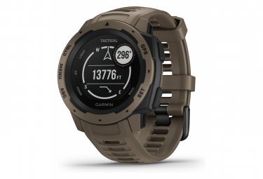 Montre de Sport Garmin Instinct - Tactical Edition Beige / Marron
