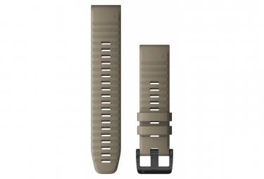 Cinturino Garmin QuickFit 22 mm in silicone arenaria scura