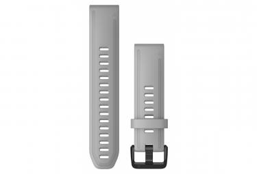 Pulsera de silicona Garmin QuickFit 20 mm en polvo gris