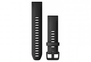 Garmin QuickFit 20 mm Silicone Wristband Black