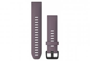 Pulsera De Silicona Garmin Quickfit 20 Mm Tormenta Purpura