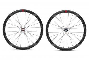 Pair of Fulcrum Wind 55 Carbon Disc Wheels | 12x100 - 12x142 mm | centerlock