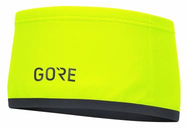Gore Wear M WINDSTOPPER Headband neon yellow