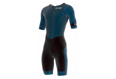 Combinaison Trifonction Aéro WA1 JUJE Homme Manches Bleu Minéral Noir Moderne