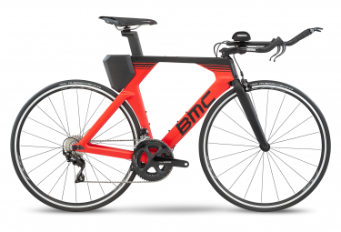 BMC Timemachine 02 Two Triathlon Bike Shimano 105 11S 700 mm Super Red 2020
