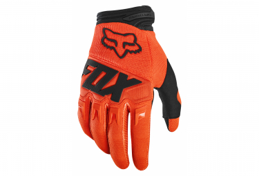 Long Gloves Fox Dirtpaw Race Orange