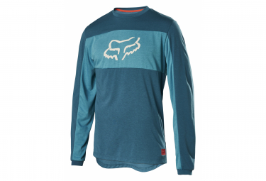 Fox Ranger DR Long Sleeve Jersey Blue