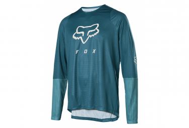 Fox Defend Blue Long Sleeve Jersey