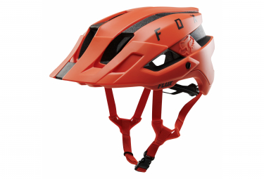 Fox Flux Solid Orange Helm